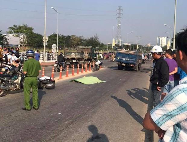 Nam sinh lớp 9 ở Đà Nẵng bị xe tải cán chết thảm trên đường đi học thêm - Ảnh 1.
