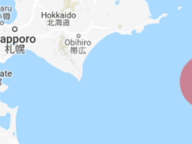 Động đất 6,2 độ tại Nhật Bản rung chuyển ngoài khơi bờ biển Hokkaido - Ảnh 1.