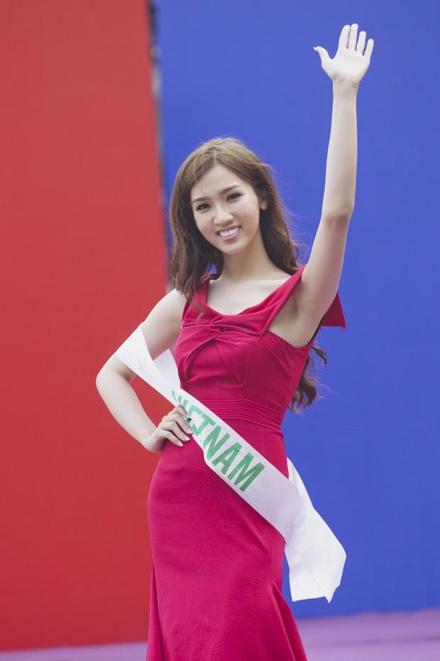 Đột nhập hậu trường Hoa hậu Chuyển giới Quốc tế: Nhật Hà và dàn thí sinh gấp rút tổng duyệt trước đêm thi quan trọng - Ảnh 3.