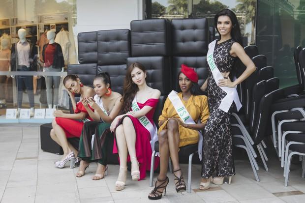Đột nhập hậu trường Hoa hậu Chuyển giới Quốc tế: Nhật Hà và dàn thí sinh gấp rút tổng duyệt trước đêm thi quan trọng - Ảnh 7.