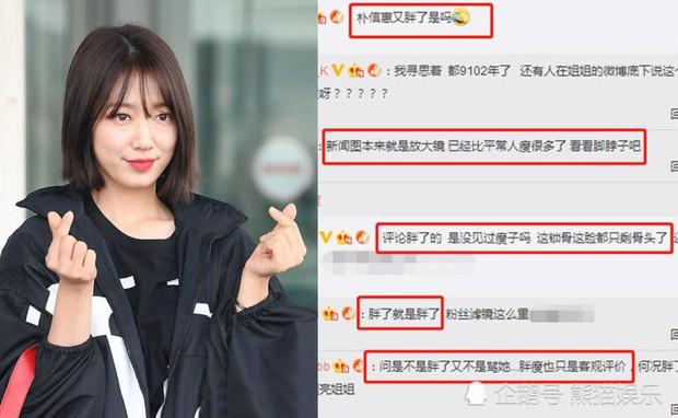 Fan Hàn tâng bốc lên mây xanh, netizen Trung tranh nhau chê Park Shin Hye béo đến mức già hẳn đi - Ảnh 6.