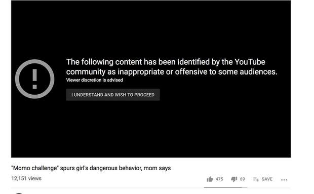 YouTube chặn quảng cáo trên các video liên quan đến yêu quái Momo, tự khẳng định: Momo là trò bịp - Ảnh 1.