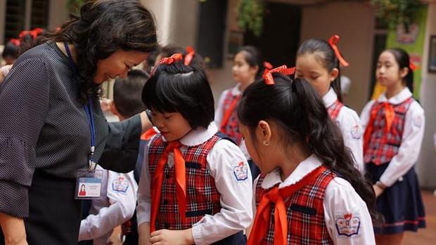 Ngôi trường có học sinh nhiều lần đón nguyên thủ quốc gia - Ảnh 5.