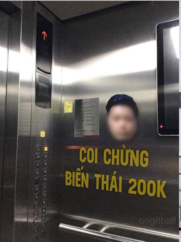 Cửa hàng từ chối phục vụ, cư dân kêu gọi dán hình kẻ dê xồm sàm sỡ nữ sinh trong thang máy để cảnh báo - Ảnh 1.