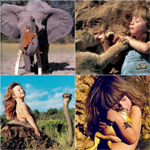 Cô bé rừng xanh từng dành trọn tuổi thơ nơi hoang dã cách đây 10 năm giờ đã khác xưa với những thay đổi không ngờ - Ảnh 2.
