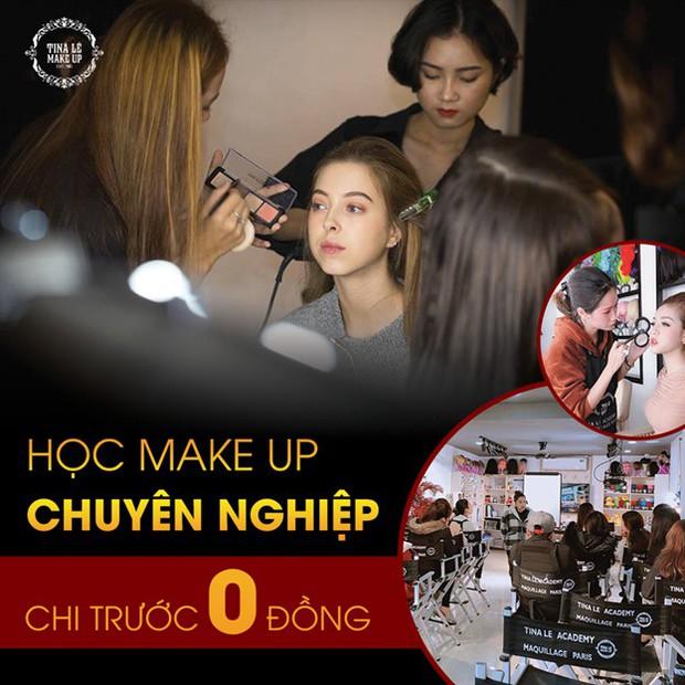 Điều kiện chưa cho phép, chọn ngay gói học make-up trả góp tại Tina Lê Make Up Academy - Ảnh 2.