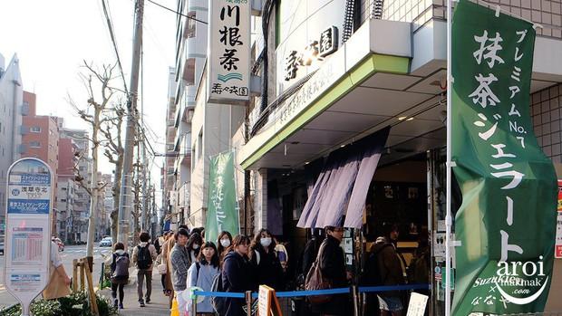 Tiệm kem ở Nhật Bản thách thức thực khách với món matcha 7 cấp độ, cấp độ 4 đã có thể khiến bạn say ngoắc cần câu - Ảnh 2.