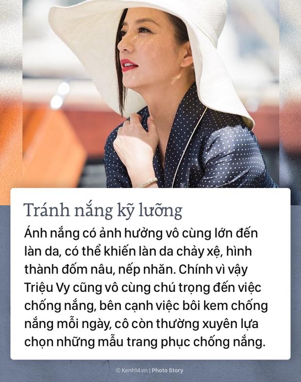 Bí kíp giúp Triệu Vy luôn giữ vững đẳng cấp nhan sắc trẻ trung, xinh đẹp - Ảnh 7.
