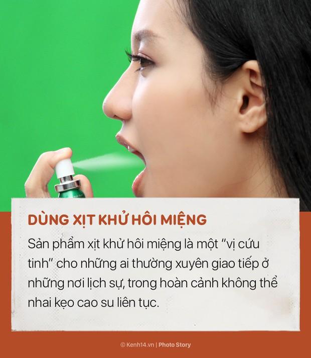Nếu cần chữa cháy tức thời tình trạng hôi miệng hãy nhớ những cách này - Ảnh 9.