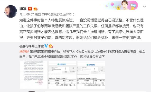 Ồn ào thông tin Dương Mịch thắng kiện khi bị tố quỵt tiền từ thiện, thực hư ra sao? - Ảnh 4.