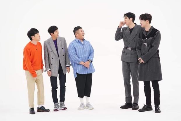 Cao 1m75 nhưng Kwanghee như hóa... người tí hon khi đứng kế 2 nam Idol khổng lồ này! - Ảnh 3.