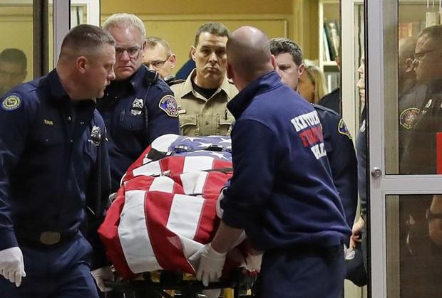 Một phó cảnh sát Mỹ bị thiệt mạng trong cuộc đấu súng với tội phạm - Ảnh 1.