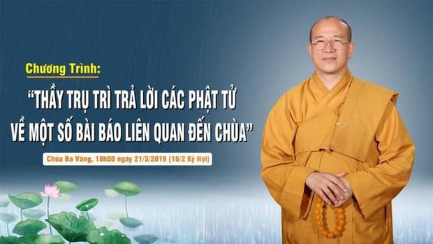 Trụ trì chùa Ba Vàng xác nhận có giải vong báo oán nhưng là tự nguyện, không ép buộc hay hù dọa - Ảnh 3.