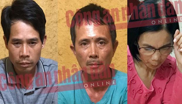 Chân dung 3 nghi phạm mới bị bắt trong vụ nữ sinh giao gà ở Điện Biên bị sát hại, cưỡng hiếp - Ảnh 1.