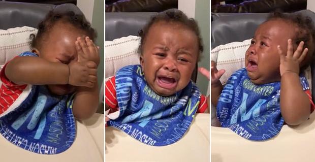 Cậu bé khóc lóc hết sức drama vì không nhận ra ông bố mới cắt tóc, dân mạng dù thương vẫn đòi chế meme - Ảnh 5.