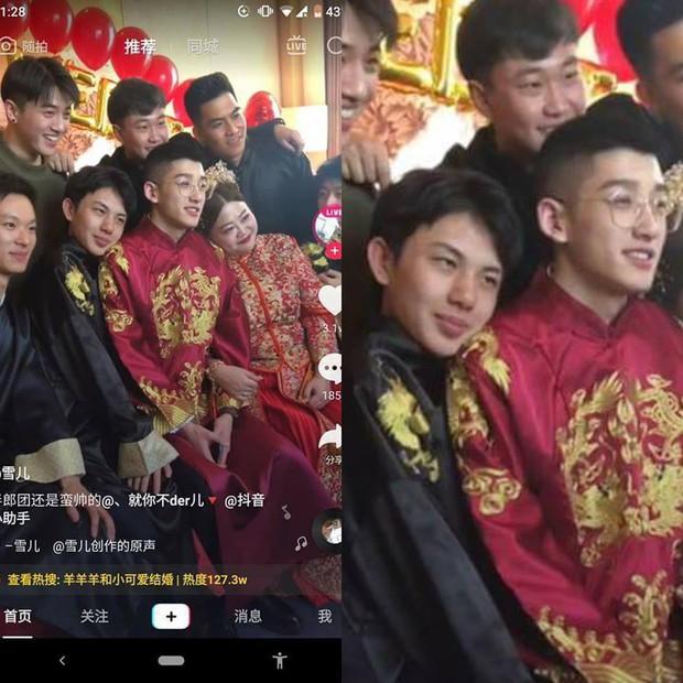 Danh tính kẻ thứ ba cướp vai chú rể trong đám cưới của couple đũa lệch hot nhất Trung Quốc - Ảnh 2.