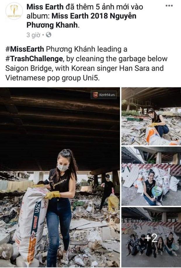 Hoa hậu Phương Khánh được khán giả quốc tế khen ngợi hết lời khi tham gia phong trào Thử thách dọn rác. - Ảnh 4.