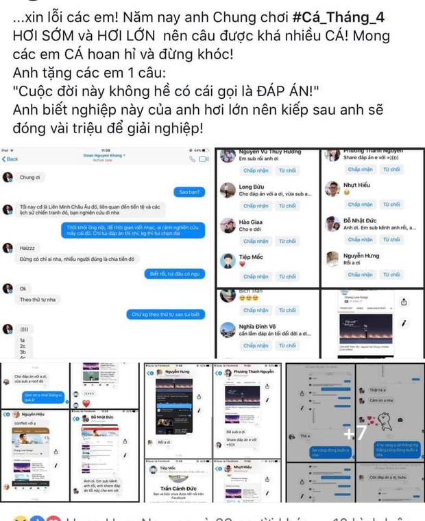 Nguyên Khang bị nghi tiết lộ đáp án Confetti cho nhạc sĩ Nguyễn Văn Chung, sự thật là gì? - Ảnh 2.