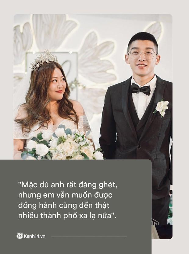 Ngôn tình có thật của cặp đũa lệch nổi tiếng nhất Trung Quốc: Mập lên rồi em bị kẹt ở tim anh, không ra được nữa! - Ảnh 4.