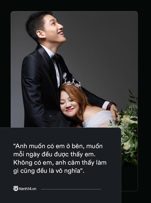 Ngôn tình có thật của cặp đũa lệch nổi tiếng nhất Trung Quốc: Mập lên rồi em bị kẹt ở tim anh, không ra được nữa! - Ảnh 2.