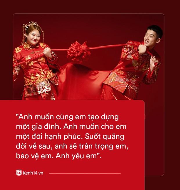 Ngôn tình có thật của cặp đũa lệch nổi tiếng nhất Trung Quốc: Mập lên rồi em bị kẹt ở tim anh, không ra được nữa! - Ảnh 7.