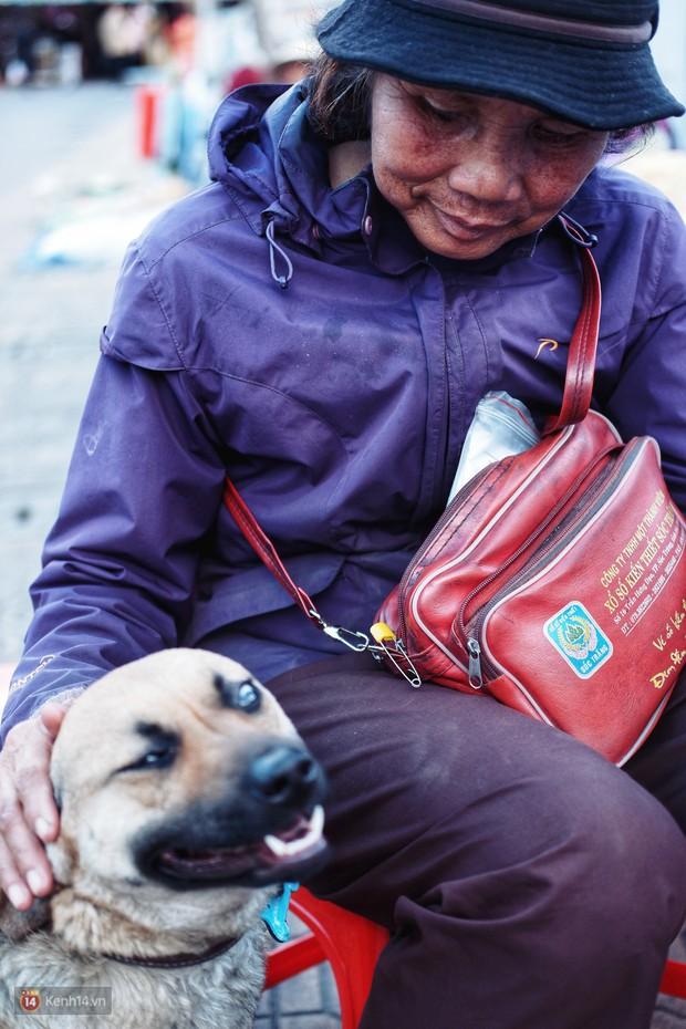 Câu chuyện đáng yêu của người phụ nữ bán vé số và chú chó lang thang ở Đà Lạt - Ảnh 4.