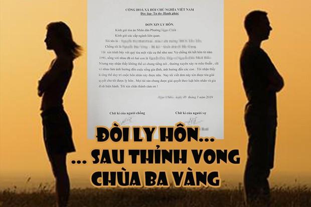 """Vụ """"vong báo oán"""" chùa Ba Vàng: Đòi ly hôn sau màn thỉnh vong - Ảnh 1."""
