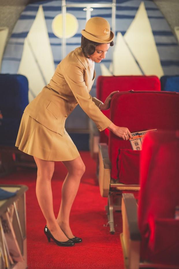 Trải nghệm hạng thương gia trên chiếc Boeing 747 theo phong cách retro: Giống như đang xem một bộ phim cổ điển! - Ảnh 3.