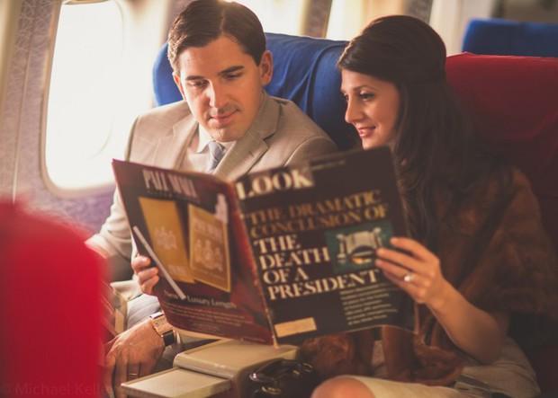 Trải nghệm hạng thương gia trên chiếc Boeing 747 theo phong cách retro: Giống như đang xem một bộ phim cổ điển! - Ảnh 8.