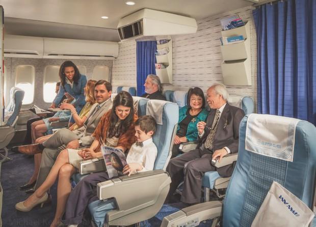 Trải nghệm hạng thương gia trên chiếc Boeing 747 theo phong cách retro: Giống như đang xem một bộ phim cổ điển! - Ảnh 13.