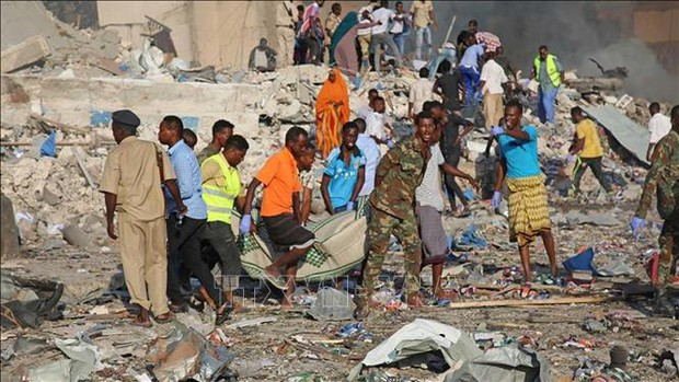 Nổ lớn liên tiếp tại thủ đô của Somalia  - Ảnh 1.
