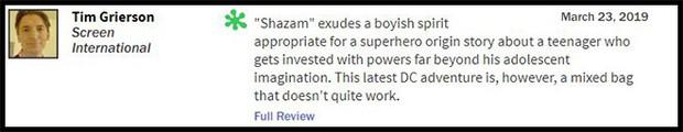 Thánh nhây Shazam đạt 93% trên Rotten Tomatoes, được giới phê bình gọi là phim DC hay nhất từ trước đến nay - Ảnh 10.