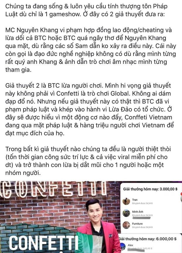 Netizen trước nghi vấn Confetti gian lận: Nhiều thuyết âm mưu được đặt ra, không ít người đòi tẩy chay - Ảnh 13.