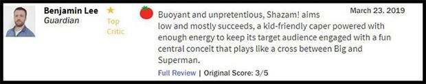 Thánh nhây Shazam đạt 93% trên Rotten Tomatoes, được giới phê bình gọi là phim DC hay nhất từ trước đến nay - Ảnh 7.