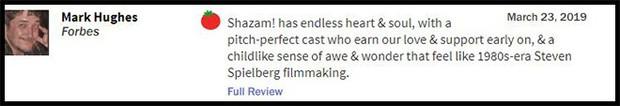 Thánh nhây Shazam đạt 93% trên Rotten Tomatoes, được giới phê bình gọi là phim DC hay nhất từ trước đến nay - Ảnh 8.
