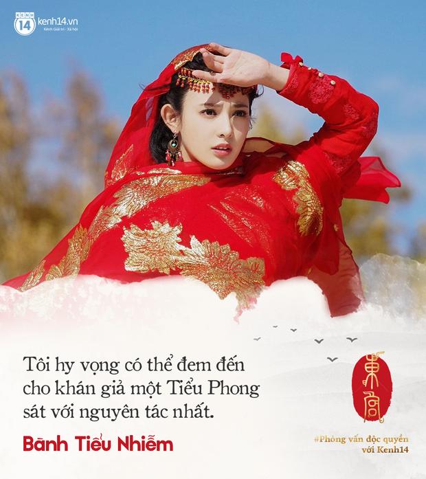 Clip phỏng vấn độc quyền nữ chính Đông Cung Bành Tiểu Nhiễm: Gà Phạm Băng Băng hé lộ bí mật, rất muốn đến Việt Nam - Ảnh 5.