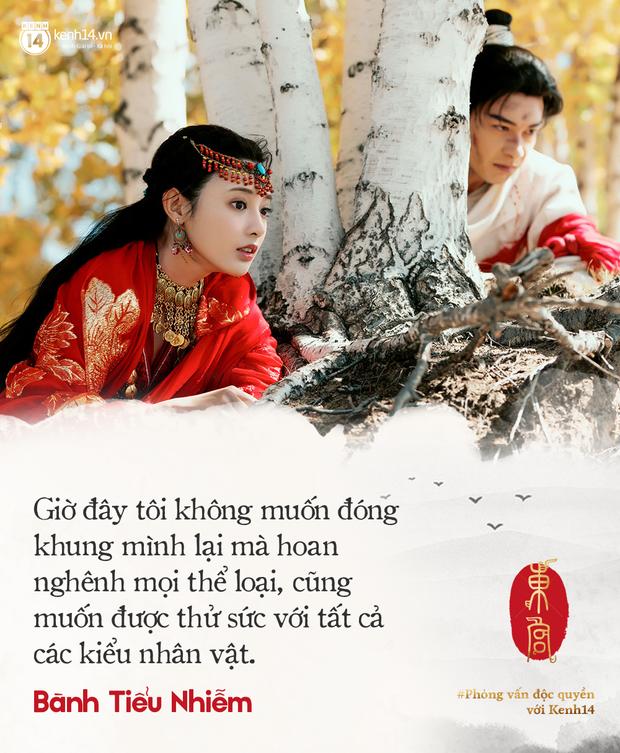 Clip phỏng vấn độc quyền nữ chính Đông Cung Bành Tiểu Nhiễm: Gà Phạm Băng Băng hé lộ bí mật, rất muốn đến Việt Nam - Ảnh 7.