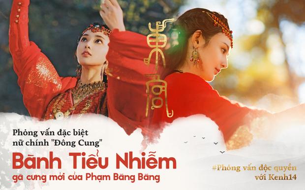 Clip phỏng vấn độc quyền nữ chính Đông Cung Bành Tiểu Nhiễm: Gà Phạm Băng Băng hé lộ bí mật, rất muốn đến Việt Nam - Ảnh 1.