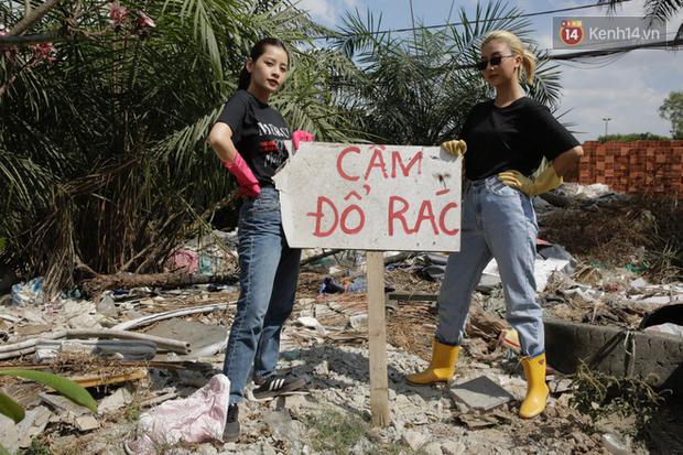 Chi Pu và Quỳnh Anh Shyn nhập cuộc Thử thách dọn rác: Khi việc làm ý nghĩa lan tỏa ngày càng mạnh mẽ! - Ảnh 4.