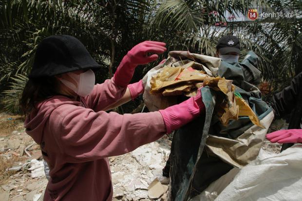 Chi Pu và Quỳnh Anh Shyn nhập cuộc Thử thách dọn rác: Khi việc làm ý nghĩa lan tỏa ngày càng mạnh mẽ! - Ảnh 6.