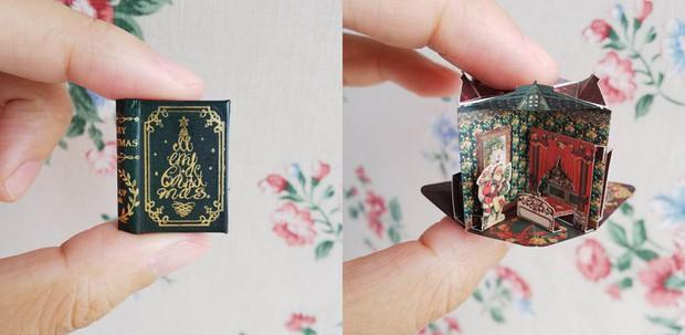 Lại là Nhật: Lật giở cả thế giới qua loạt sách mô hình bé bằng móng tay, giá khởi điểm 370.000 đồng/bộ - Ảnh 4.