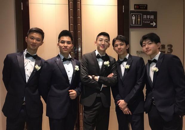 Dàn phù rể toàn cực phẩm nhưng bao lầy trong đám cưới của cặp đôi đũa lệch nổi tiếng nhất Trung Quốc - Ảnh 2.