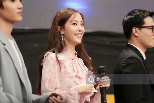 Fan phấn khích khi nghe Hyomin (T-ara) bập bẹ gọi tên chả giò, bánh tôm... trên show thực tế tại Việt Nam - Ảnh 2.