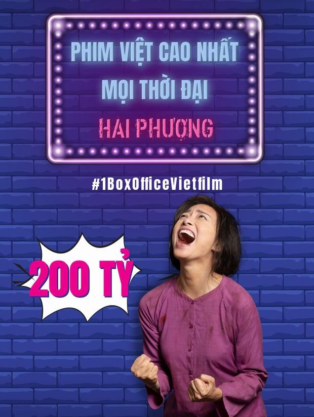 Cán mốc 200 tỷ, Hai Phượng là phim Việt có doanh thu cao nhất lịch sử - Ảnh 1.