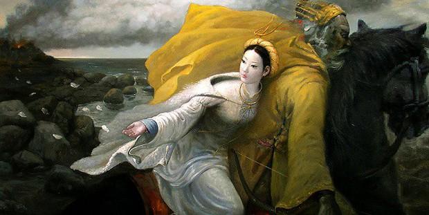 Bát bún ngan trứ danh ta ăn bây giờ không ngờ lại có liên hệ mật thiết đến tích áo lông ngỗng của Mỵ Châu thời An Dương Vương - Ảnh 2.