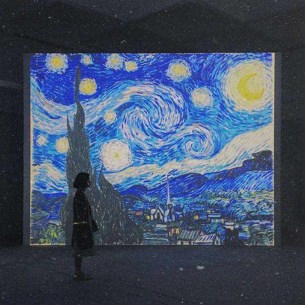 Check-in thì đã sao, chính diễn giả tại triển lãm Van Gogh ở VCCA cho biết: Tôi thấy các bạn tham gia rất lịch sự và nghiêm túc - Ảnh 3.