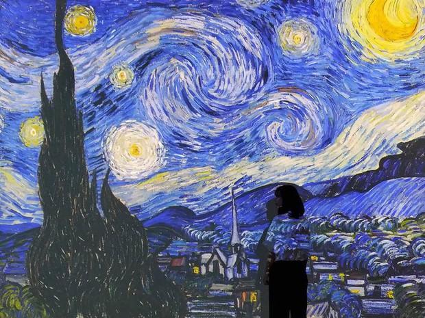 Check-in thì đã sao, chính diễn giả tại triển lãm Van Gogh ở VCCA cho biết: Tôi thấy các bạn tham gia rất lịch sự và nghiêm túc - Ảnh 10.