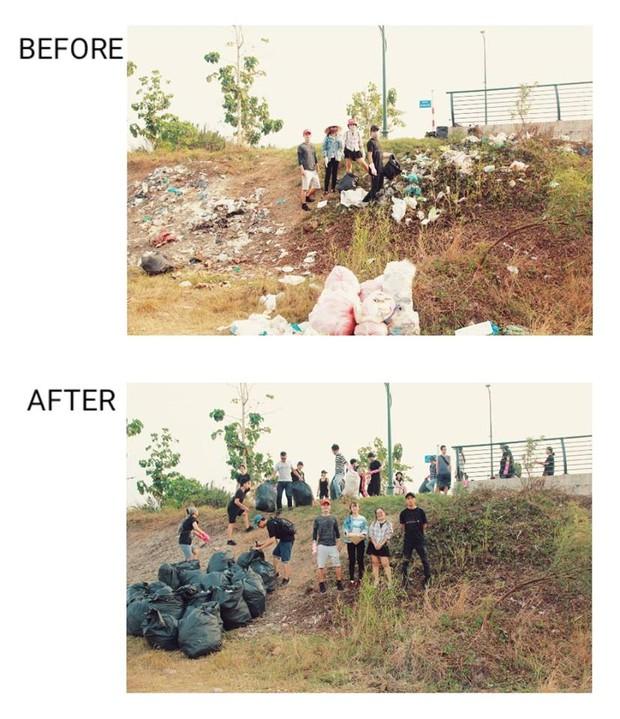 #ChallengeForChange: Nói dọn rác là làm màu cũng được, vì chúng mình sẽ... làm màu cho đến khi hết rác! - Ảnh 16.