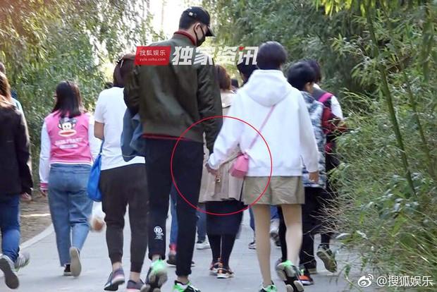 Paparazzi tóm gọn hình ảnh Kim Tan Trung Quốc hẹn hò với đàn chị hơn 4 tuổi sau khi chia tay Hạ Tử Vy - Ảnh 2.