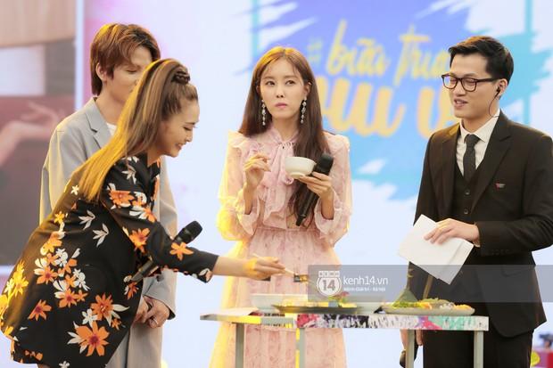 Fan phấn khích khi nghe Hyomin (T-ara) bập bẹ gọi tên chả giò, bánh tôm... trên show thực tế tại Việt Nam - Ảnh 4.